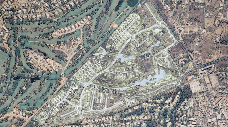 Morgadinhos map