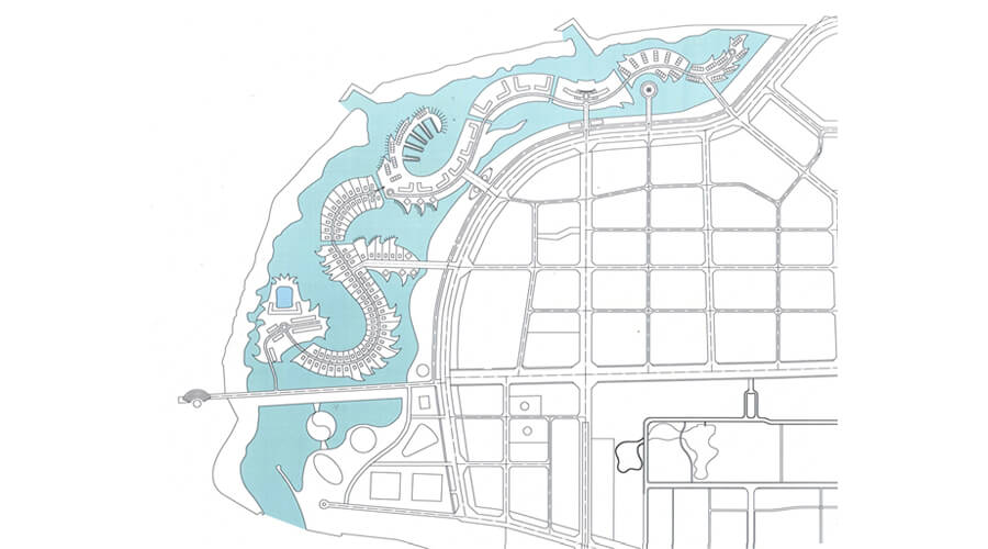 Project Dragon Island / Water City