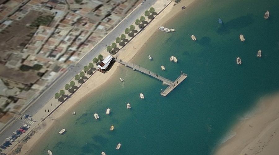 St.ª Luzia Wharf in Tavira