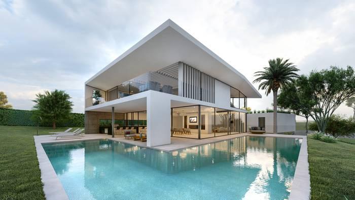 Vila com piscina