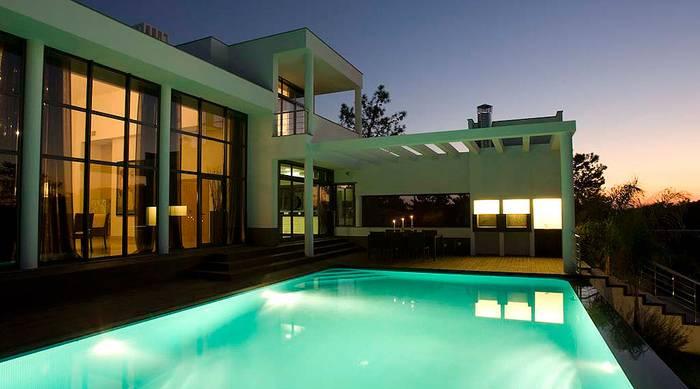 Vila com piscina - PLAN
