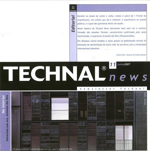 TECHNAL Newsletter - Entrevista ao Arq. Armando Dos Reis