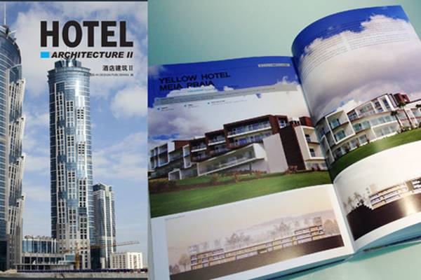 Yellow Hotel publication in HOTEL Architecture II