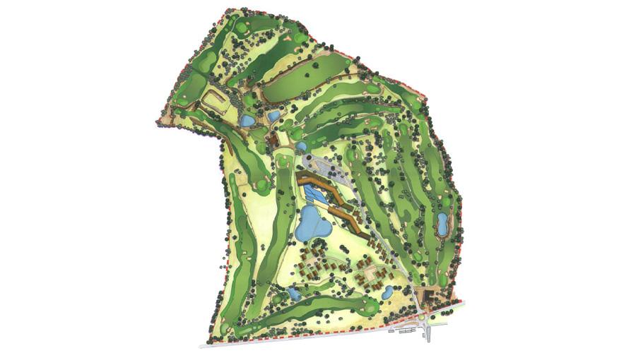 Benamor - Golf Resort. Masterplan for Touristic Development